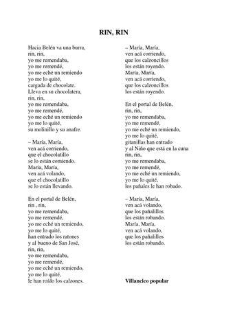 Villancicos By Joaquín Quesada Guzmán Issuu