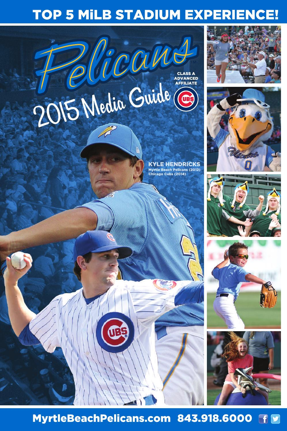 f85d70fa 2015 Myrtle Beach Pelicans Media Guide by Splash Pelican - issuu