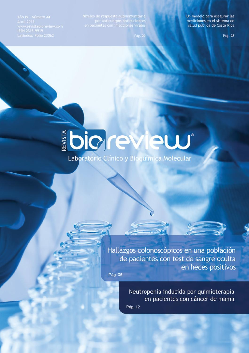Revista Bioreview Edición 44 by RW SA - issuu