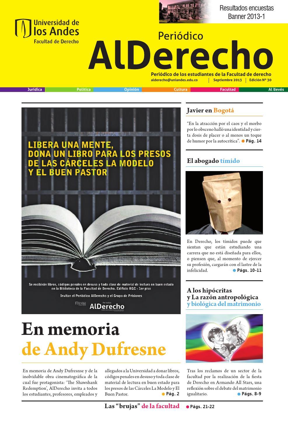 Periódico Al Derecho Edición 30 by Periódico Al Derecho - issuu