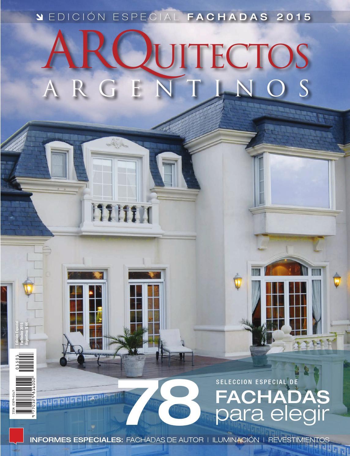 Fachadas 2015 by jauna issuu for Modelos de fachadas para frentes de casas