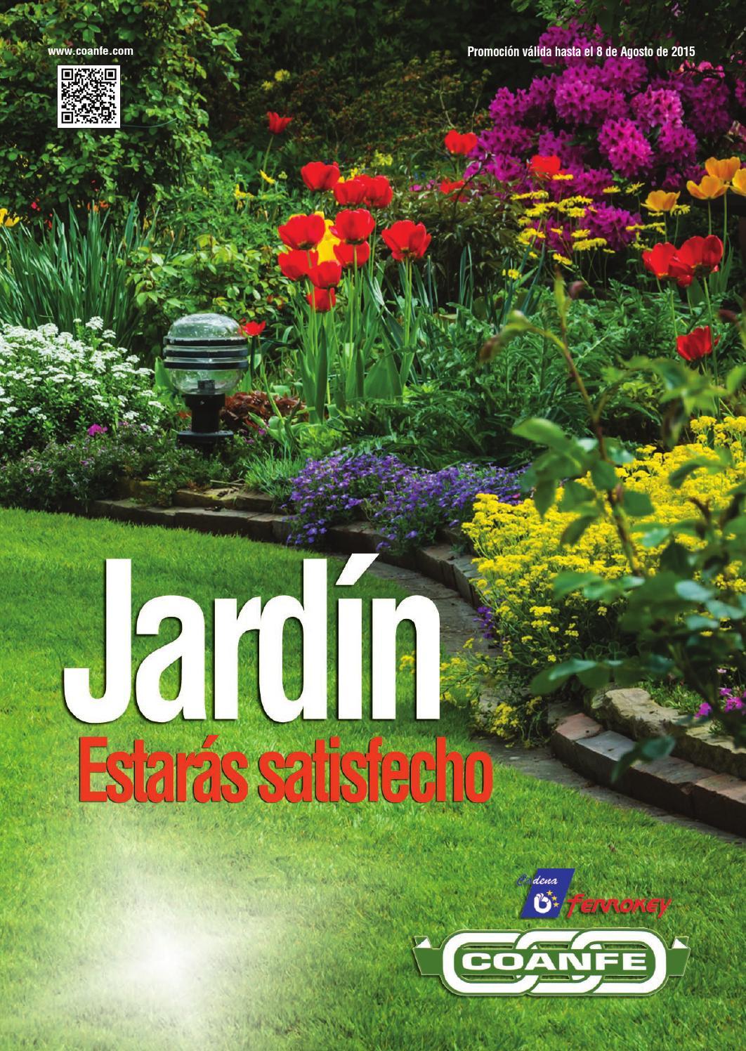 Oferta ferrokey jardin 2015 by coanfe issuu for Set de resina de jardin trenzado barato