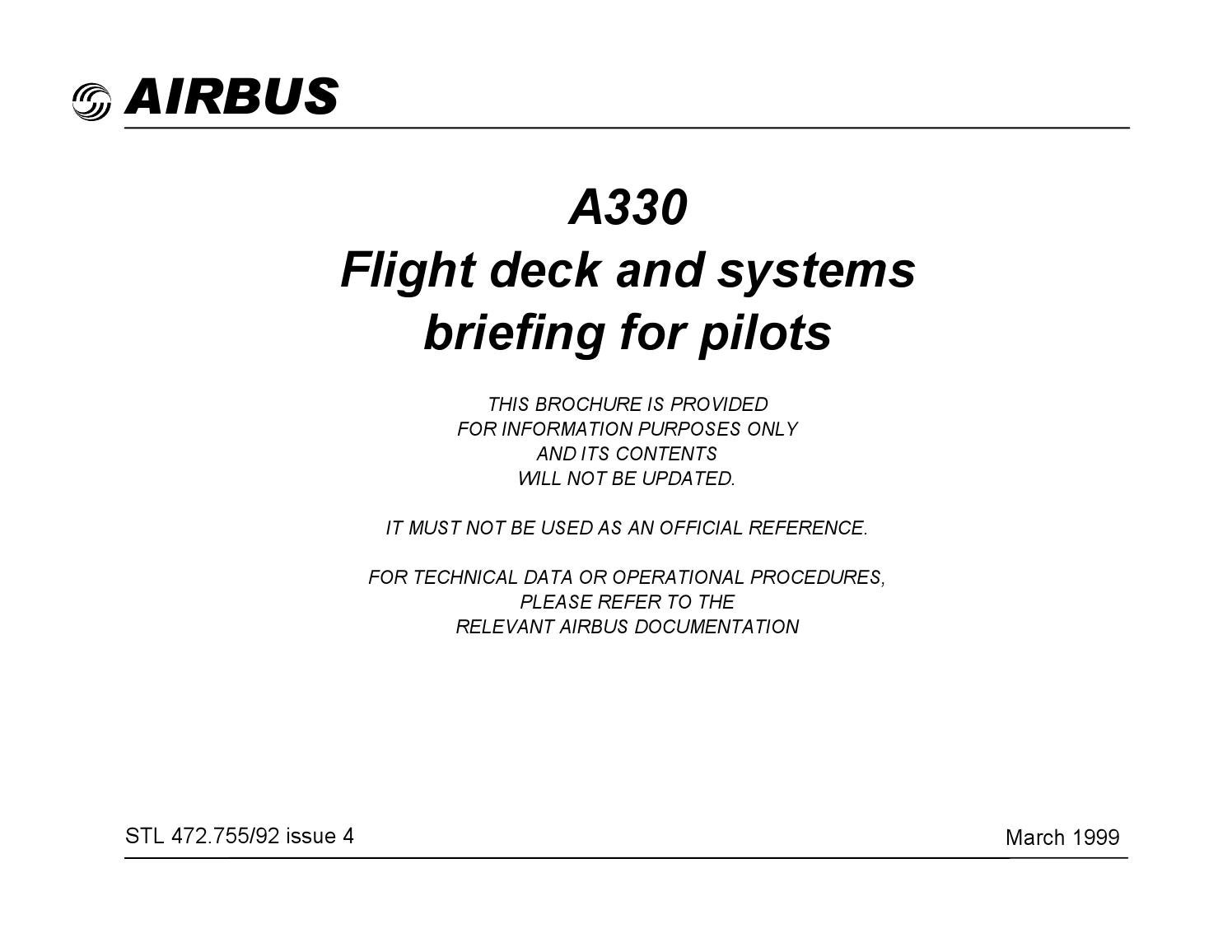 airbus a330 flight deck and systems briefing for pilots by skyhawkss rh issuu com Ground Fault Isolation Systematic Fault Isolation