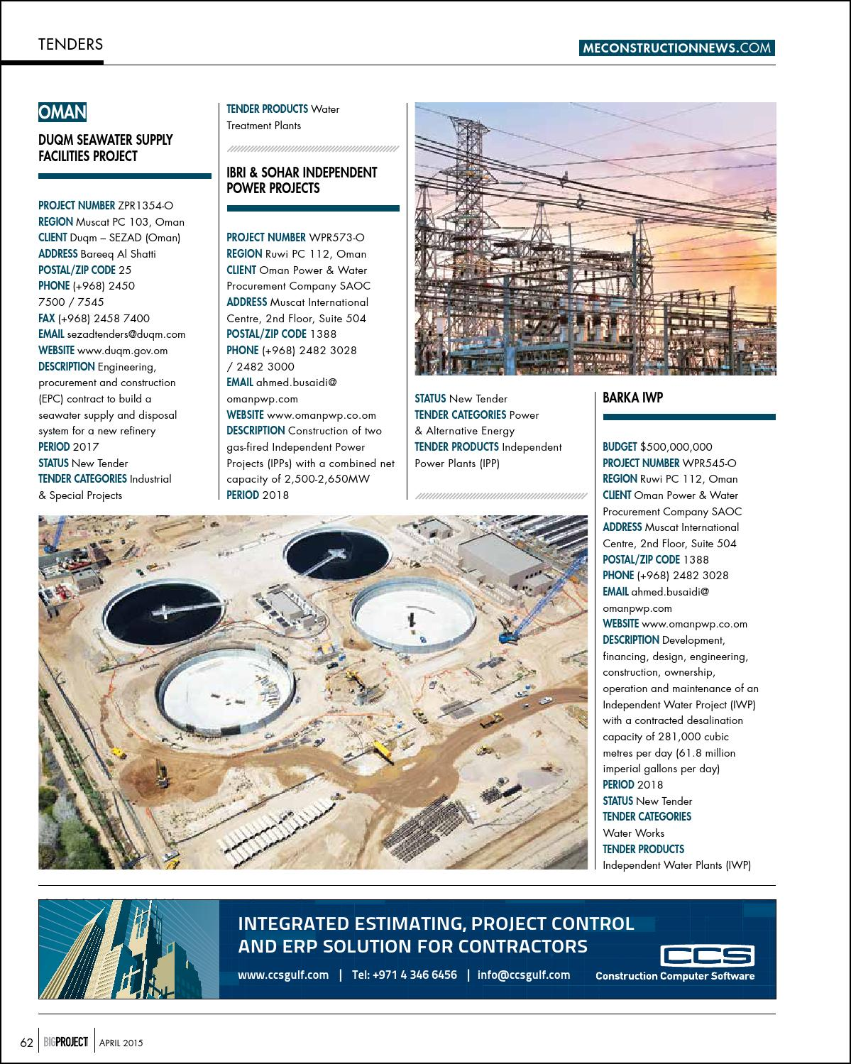 Big Project ME April 2015 by Big Project Middle East - issuu