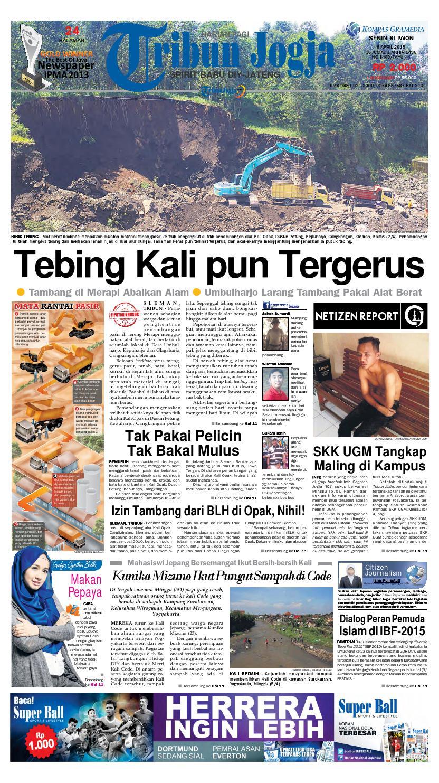 Tribunjogja 06 04 2015 By Tribun Jogja Issuu Produk Umkm Bumn Bolu Gulung Hj Enong