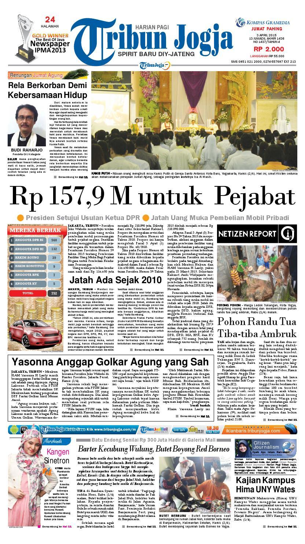 Tribunjogja 03 04 2015 By Tribun Jogja Issuu Ramatranz Travel Lampung Jakarta Palembang Dan Paket Kilat