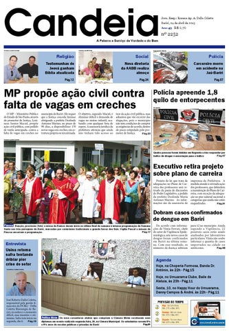 c0a8eec58d7 Jornal candeia 04 04 2015 by Jornal Candeia - issuu