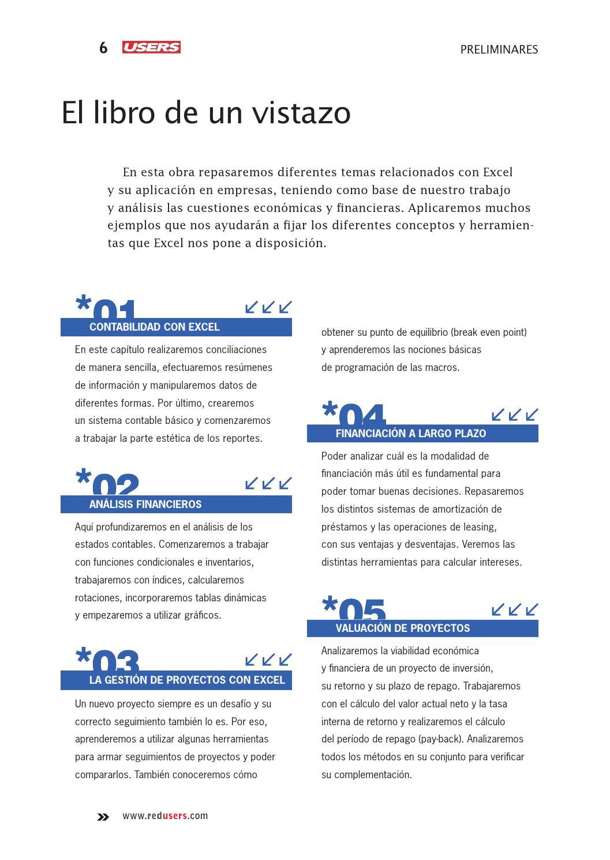 Análisis económico y financiero con excel 2013 by RedUSERS