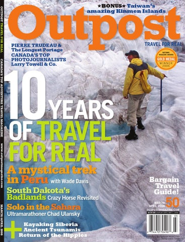 Outpost Travel Magazine Issue 50 Preview by Outpost Magazine - issuu