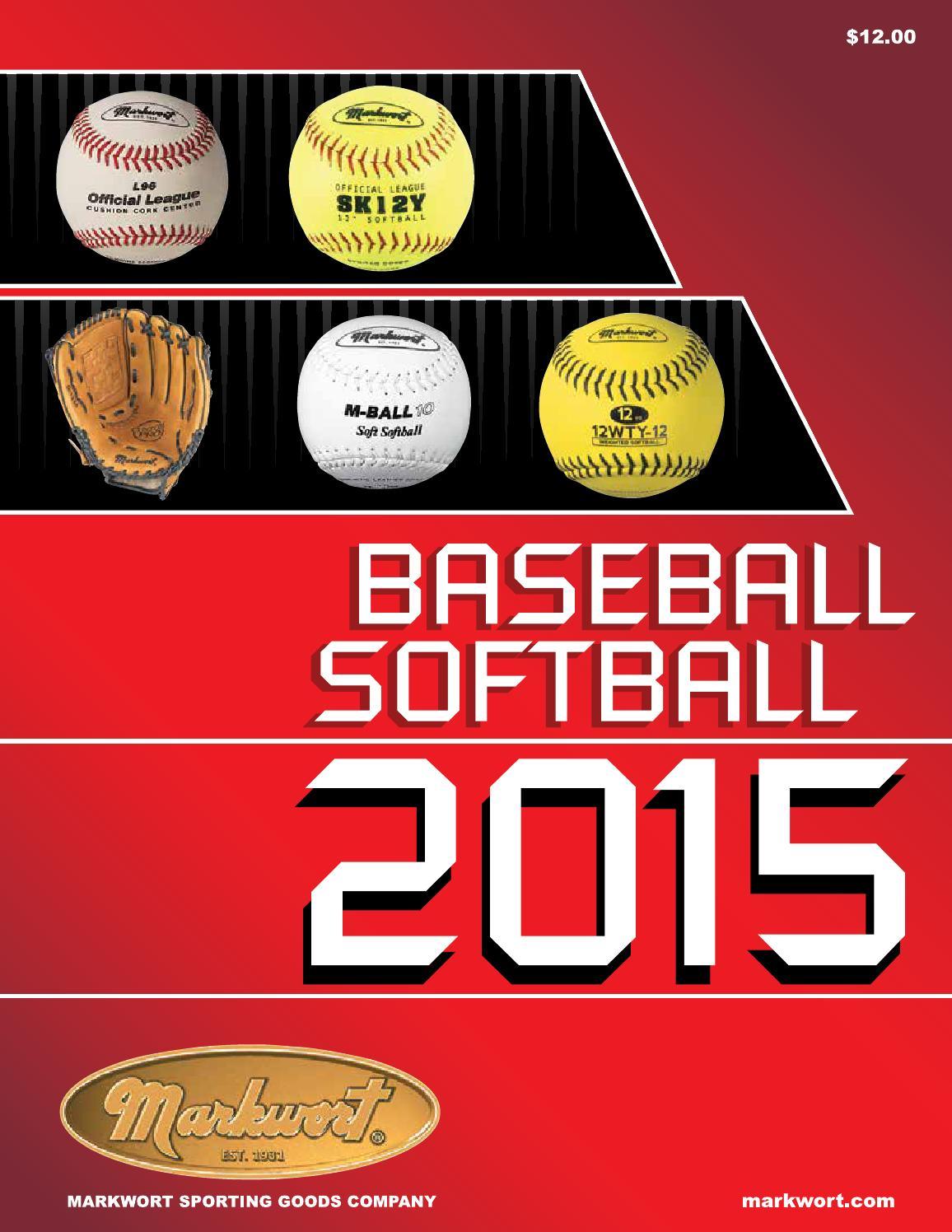 Markwort 2015 Baseball Softball Catalog by Markwort Sporting Goods - issuu 6dc00602e