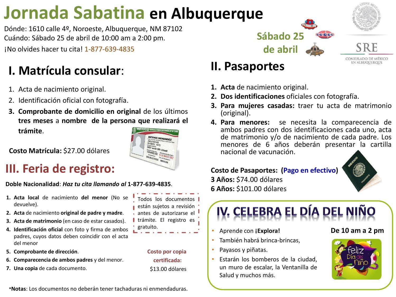 Jornada sabatina 25 de abril 2015 by Consulado de México en ...