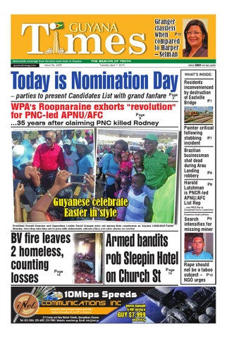 Guyana Times Daily - April 7, 2015 by Gytimes - issuu