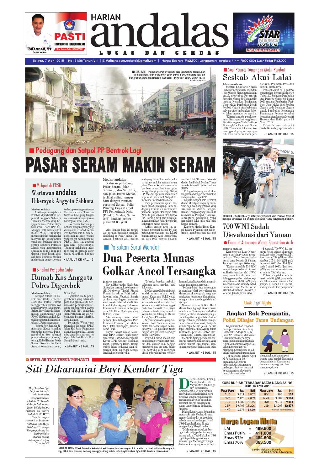 Epaper andalas edisi selasa 7 april 2015 by media andalas - issuu 7f9b49ade3