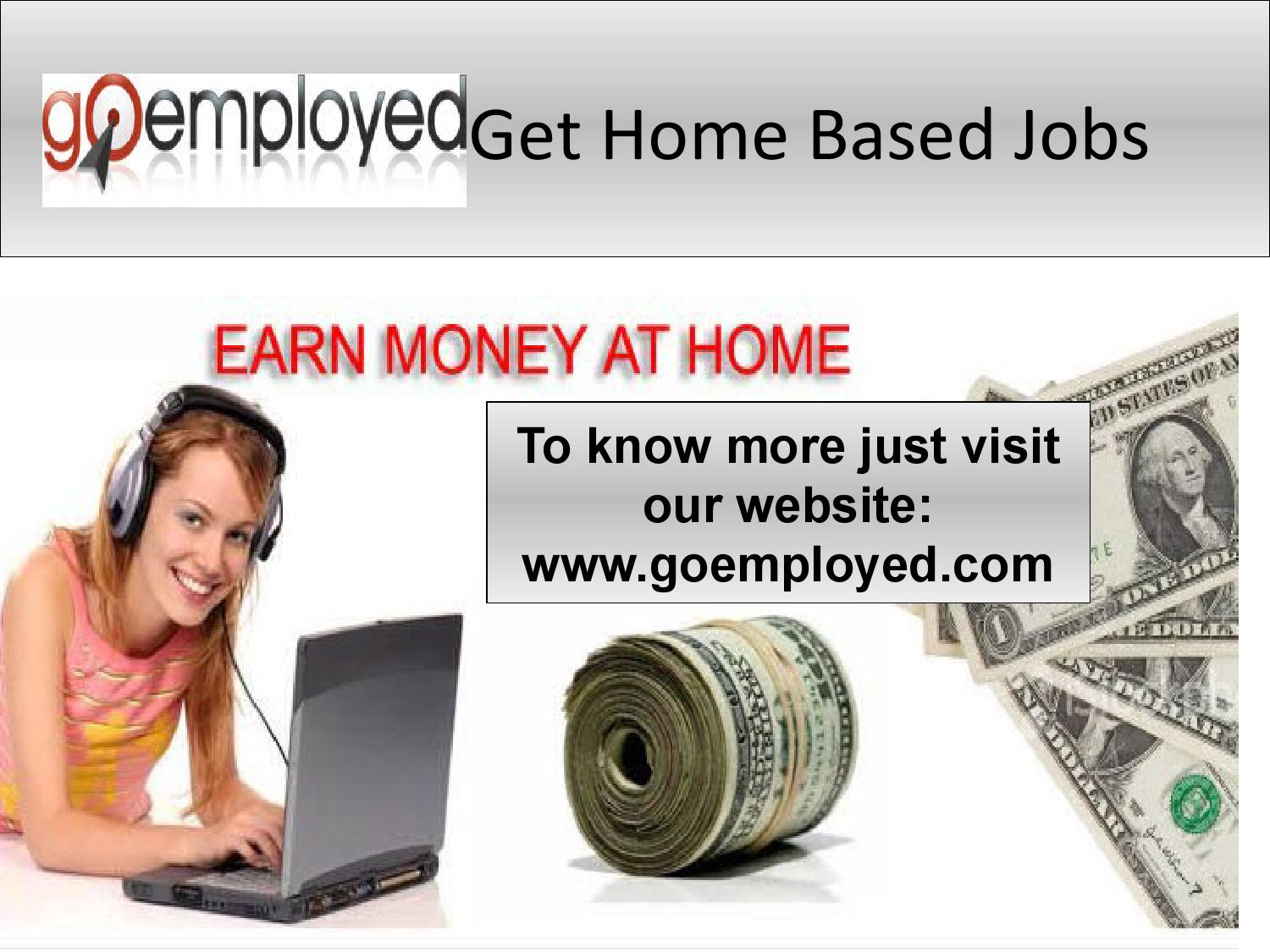 Amazing High Paying Home Based Jobs Adornment - Home Decorating ...