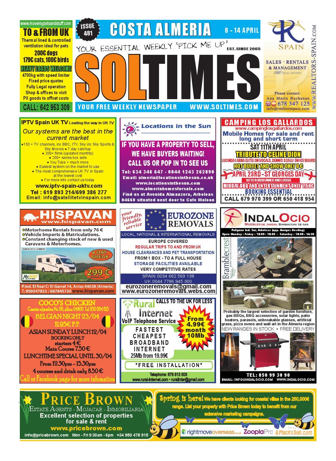 c3ec4a173 Almeria 481 by Sol Times - issuu