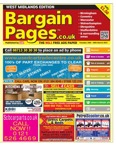 921fea4a6ac8 Bargain Pages Birmingham 24th March 2015 by Loot - issuu