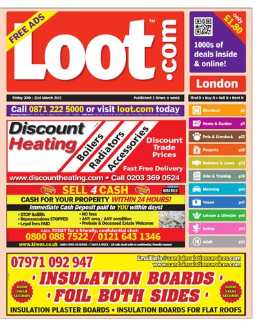 01bb446c8aa9a Loot London 20th March 2015 by Loot - issuu
