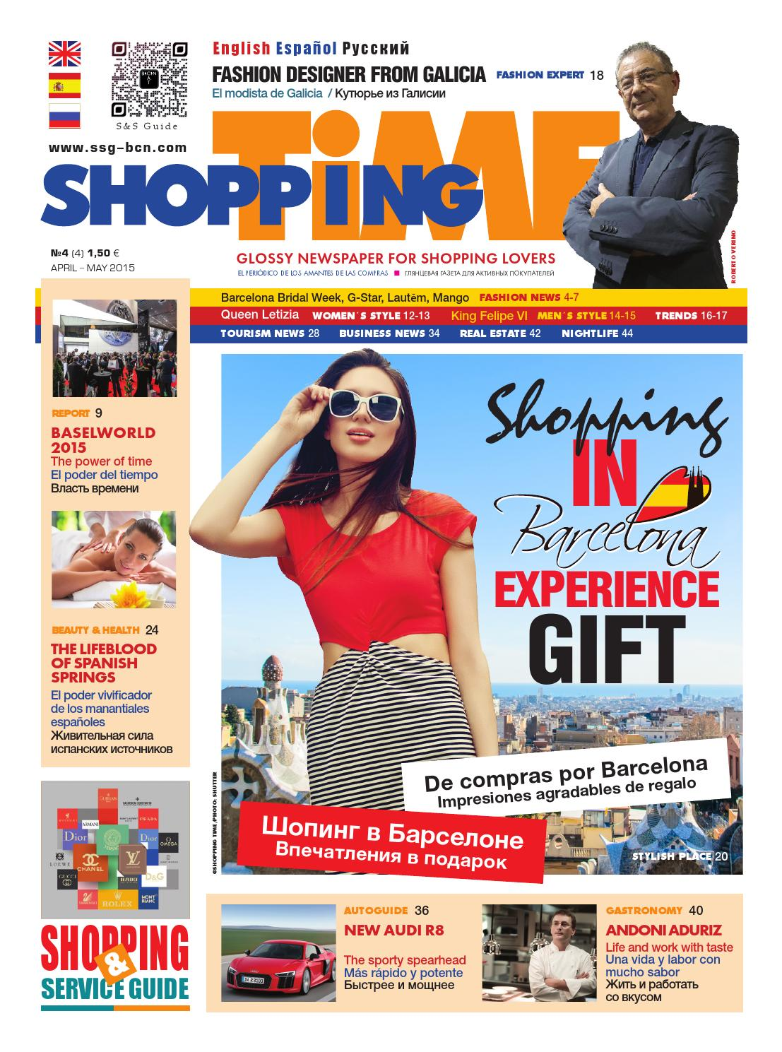 Shopping Time №4 by revista - issuu