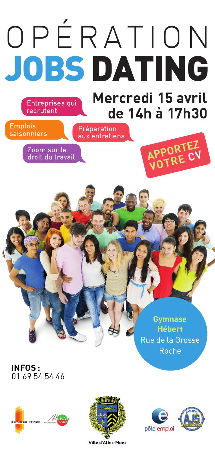 flyer jobs dating by mairie d u0026 39 athis-mons