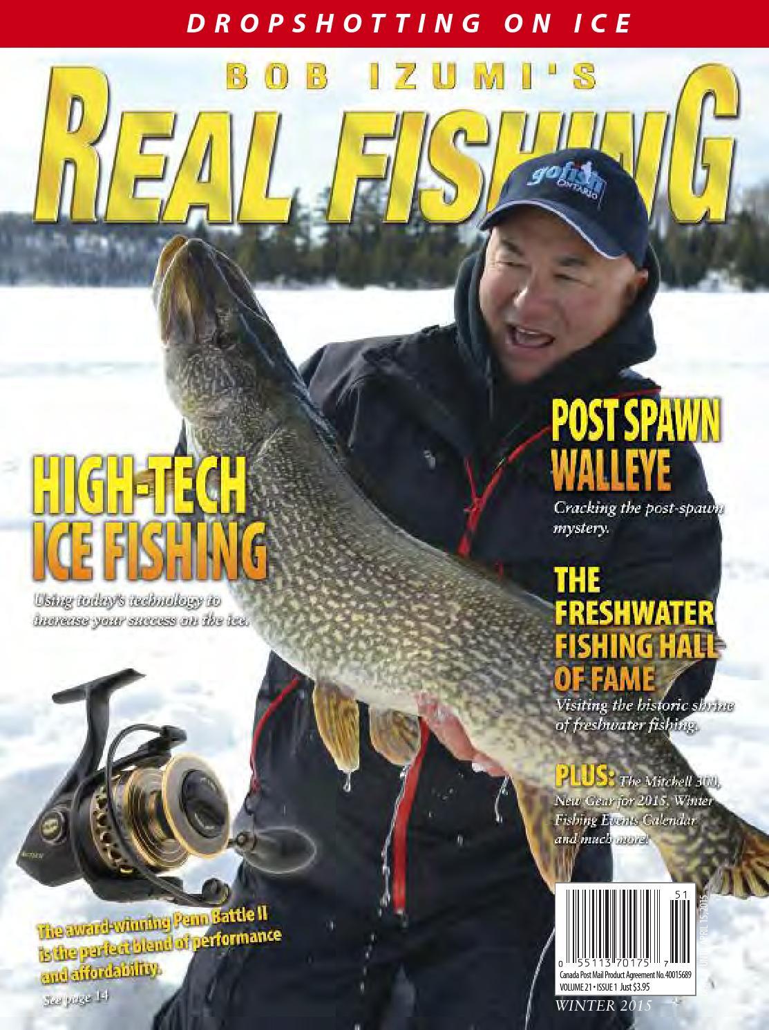 Freshwater fish magazine - Real Fishing Magazine Winter 2015