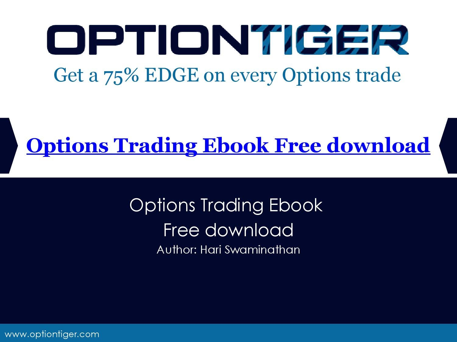 Options trading ebooks free