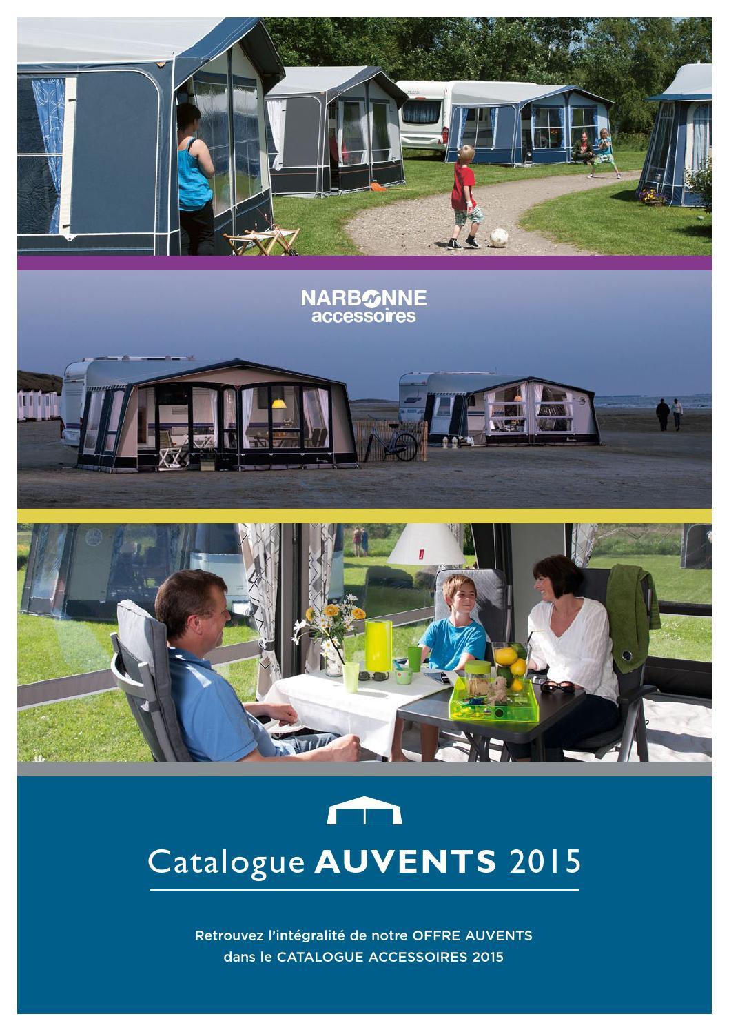 où acheter prix attractif correspondant en couleur Catalogue auvents 2015 by Narbonne Accessoires - issuu