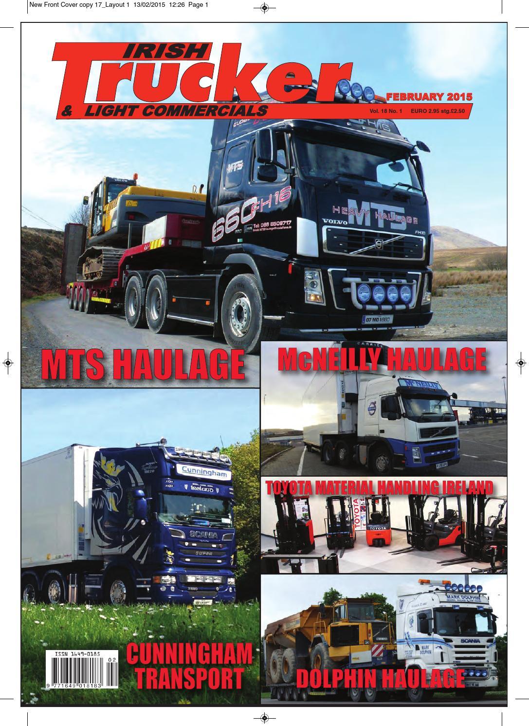 69ebe24f11 Irish Trucker   Light Commercials magazine February 2015 by Lynn Group  Media - issuu