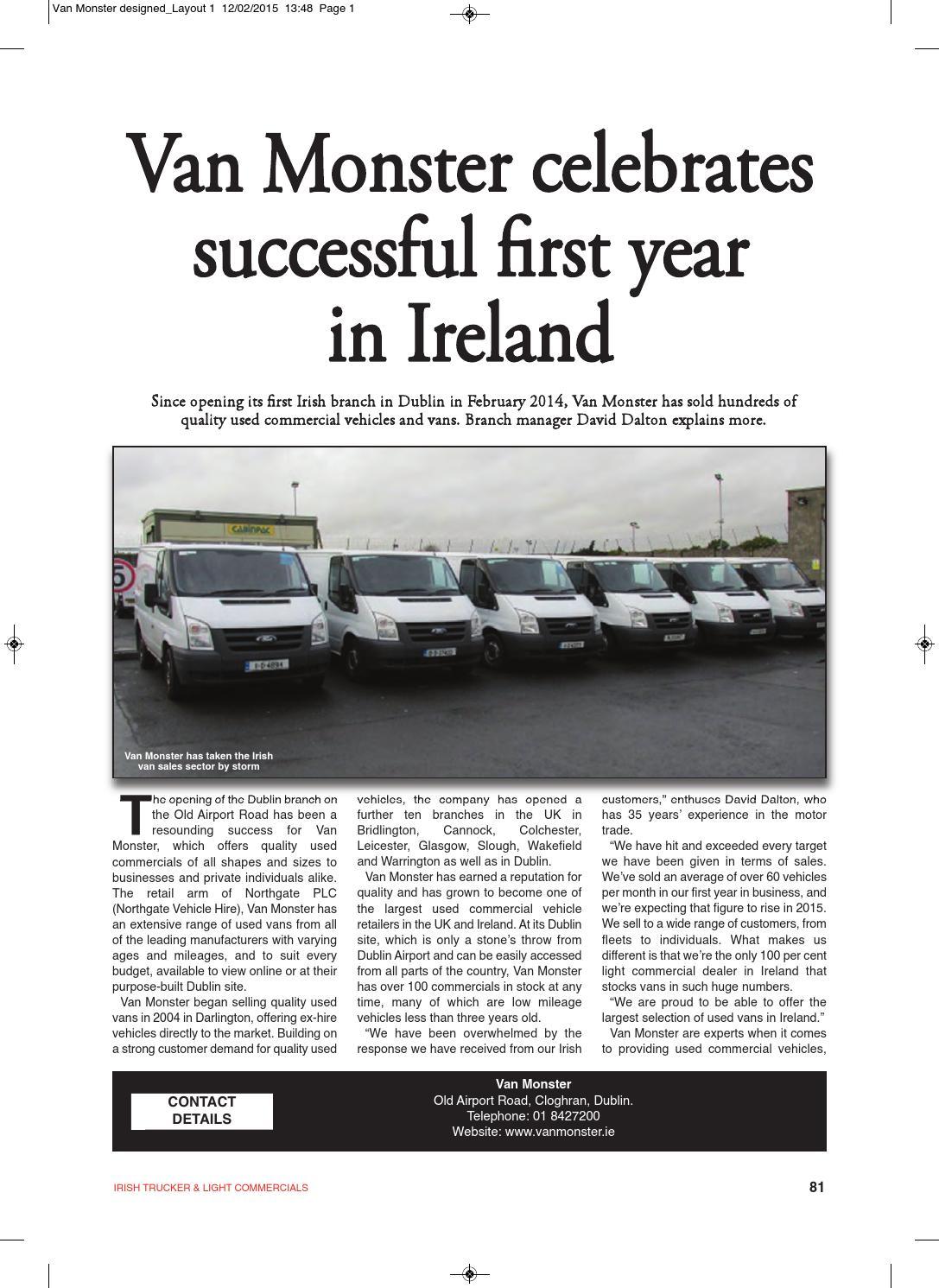 0332edeb14 Irish Trucker   Light Commercials magazine February 2015 by Lynn Group  Media - issuu