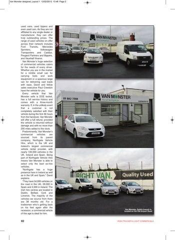 59e527364b Irish Trucker   Light Commercials magazine February 2015 by Lynn ...