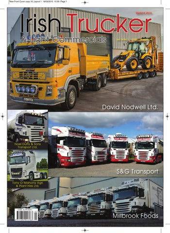 a805faddaa Irish Trucker   Light Commercials magazine March 2015 by Lynn Group ...
