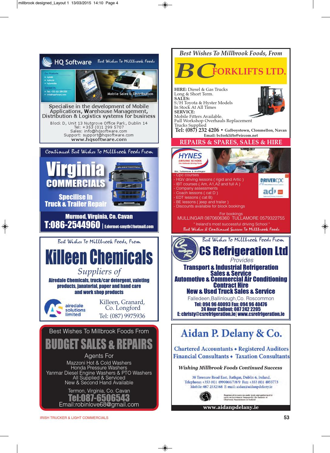 Irish Trucker Amp Light Commercials Magazine March 2015 By