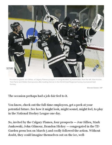 Providence College Frozen Four Guide By Providence College Issuu