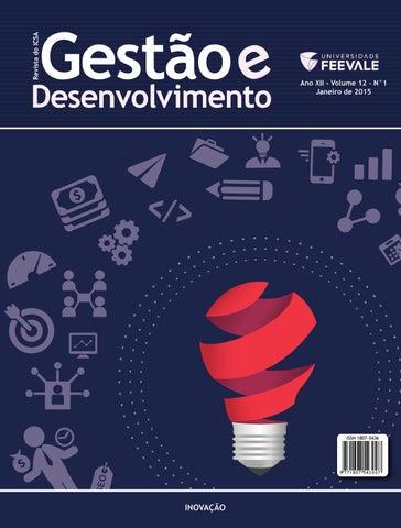 Revista gesto e desenvolvimento janeiro 2015 by universidade page 1 fandeluxe Choice Image