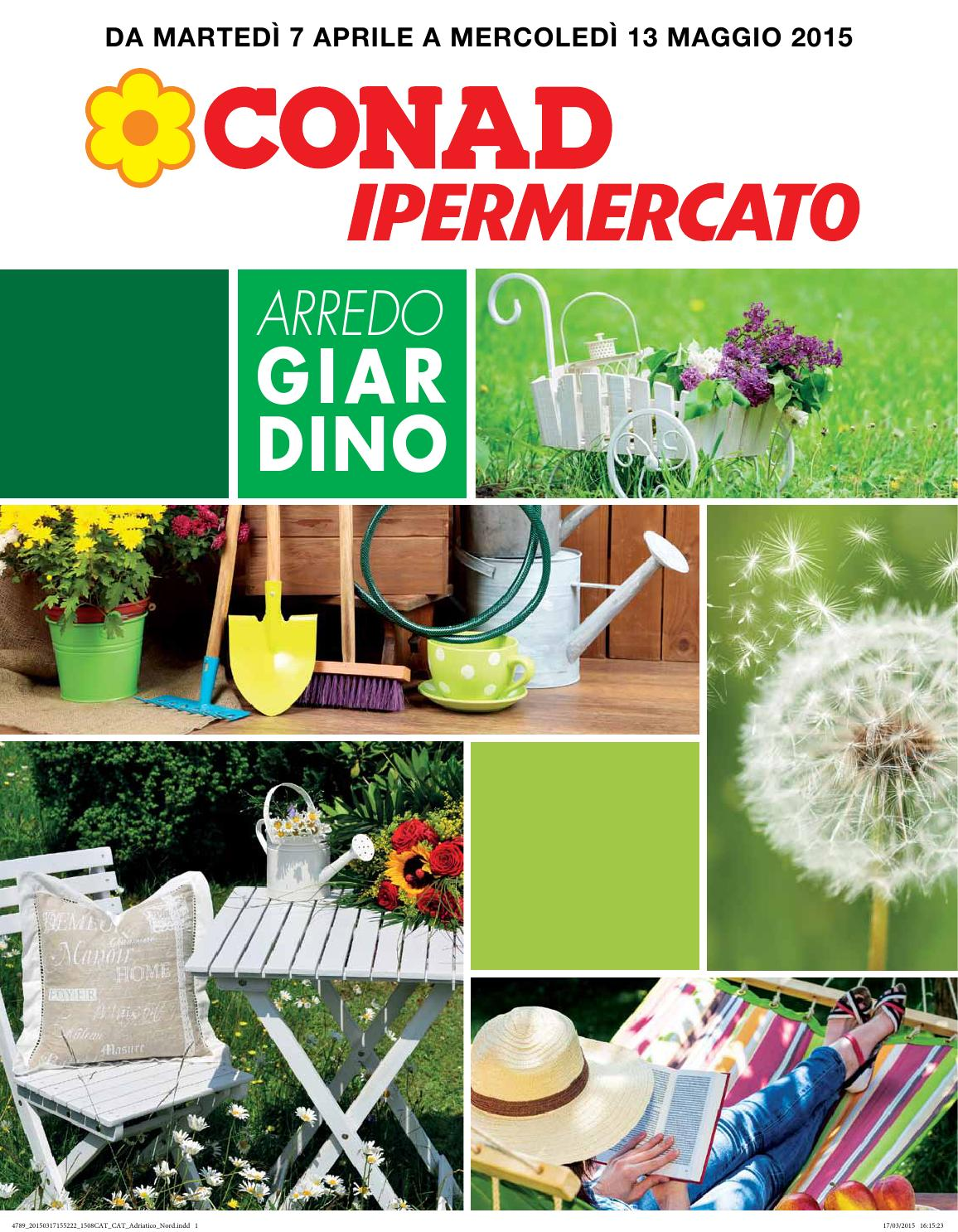 Offerte arredo giardino conad fasano da marted 7 aprile a for Offerte arredamento da giardino