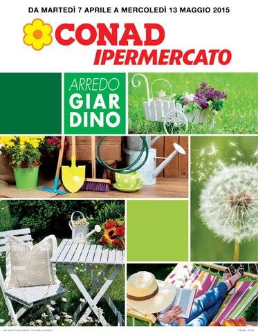 Offerte arredo giardino Conad Fasano da martedì 7 aprile a ...