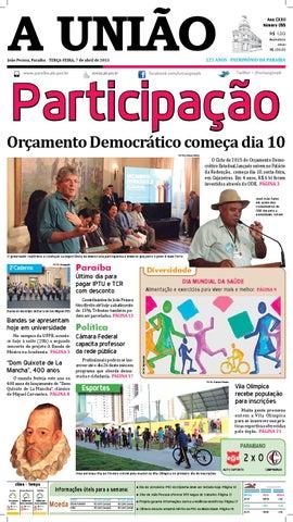 cc8f77350 Jornal A União by Jornal A União - issuu