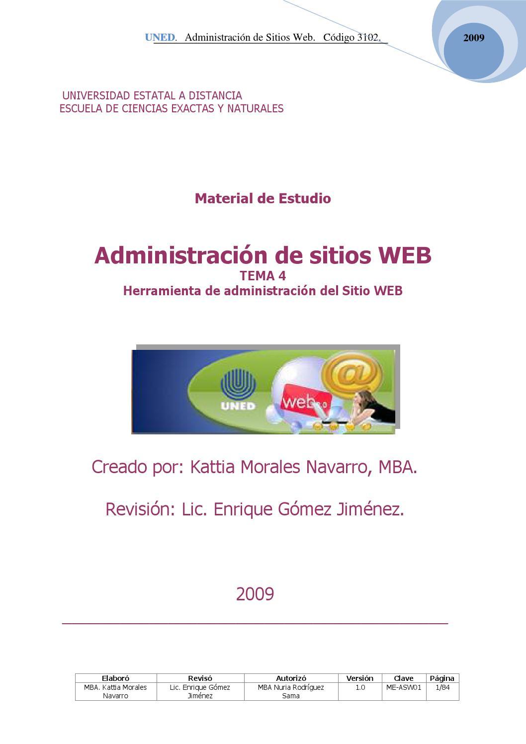 Tema 4 administracion de sitios web 3102 by Jose Gomez - issuu