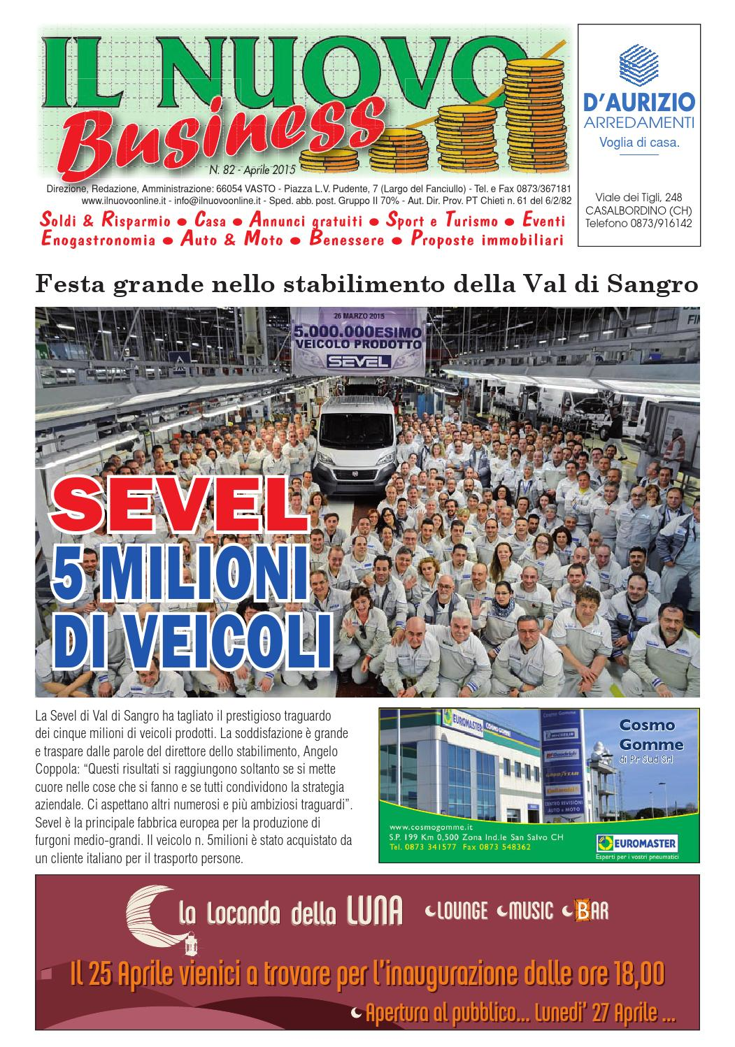 Businessaprile2015 by nicolangelo gualtieri issuu for Gualtieri arredamenti
