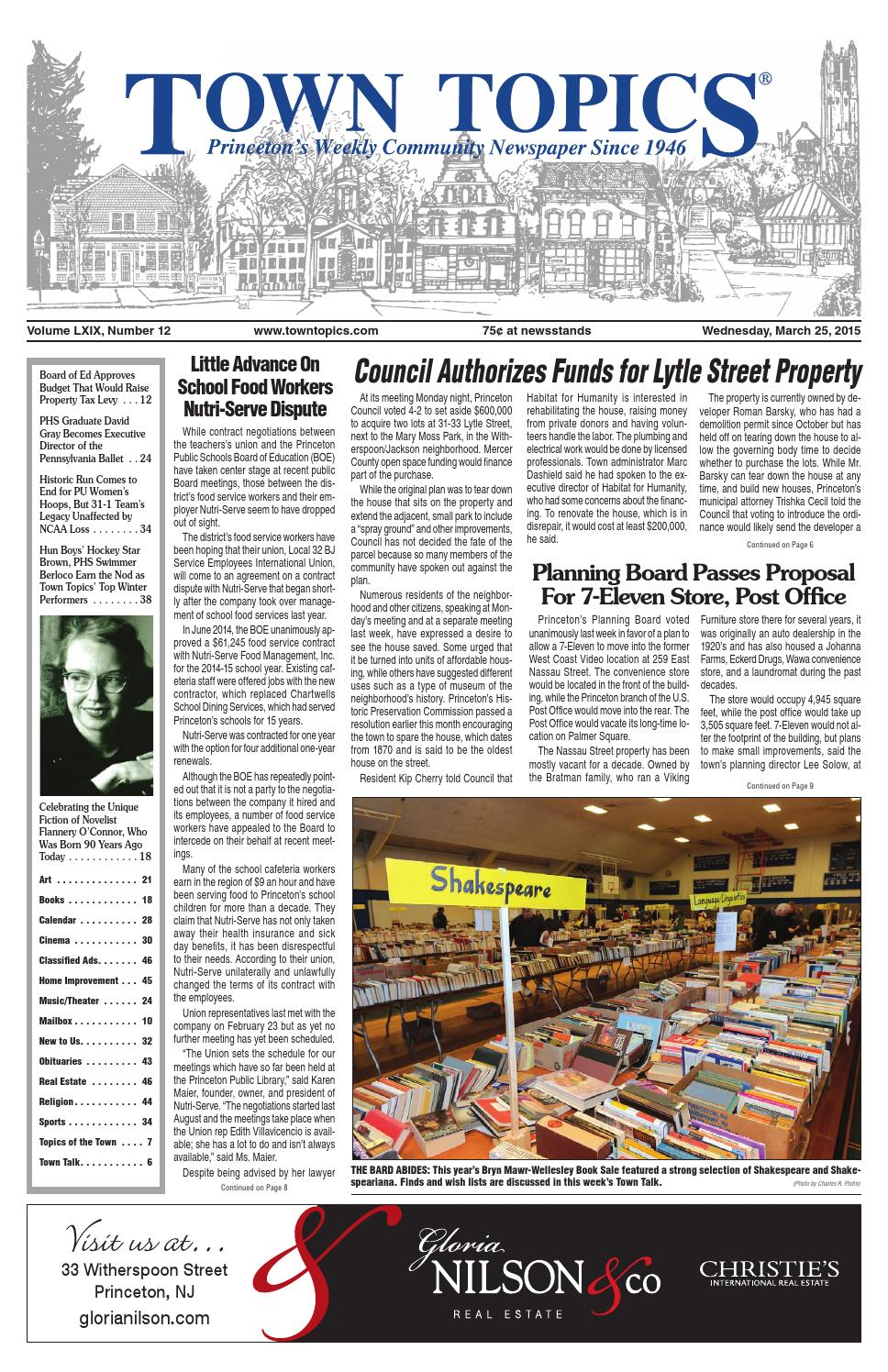 new style cbdfb 9f3d3 Town Topics Newspaper by Witherspoon Media Group - issuu