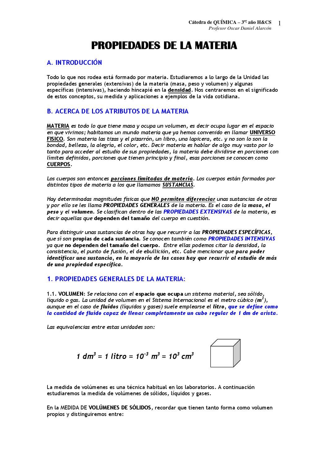 Propiedades de la materia by GERARDO GARCIA - issuu