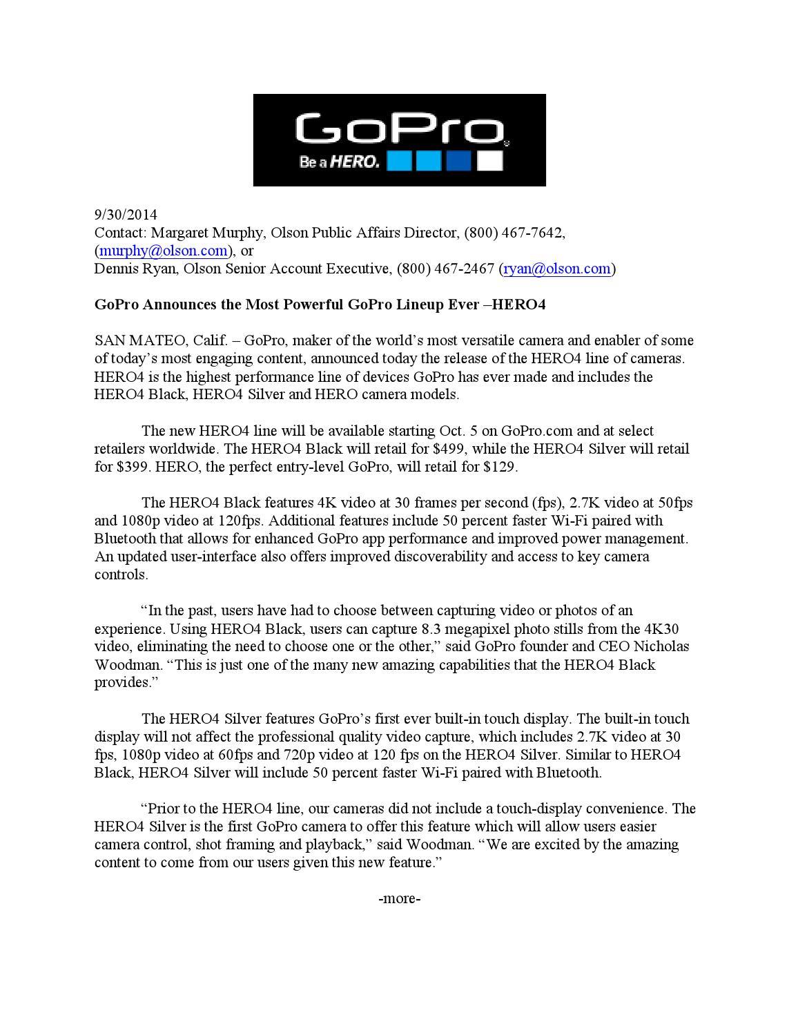 GoPro Media Kit by vmr0005 - issuu