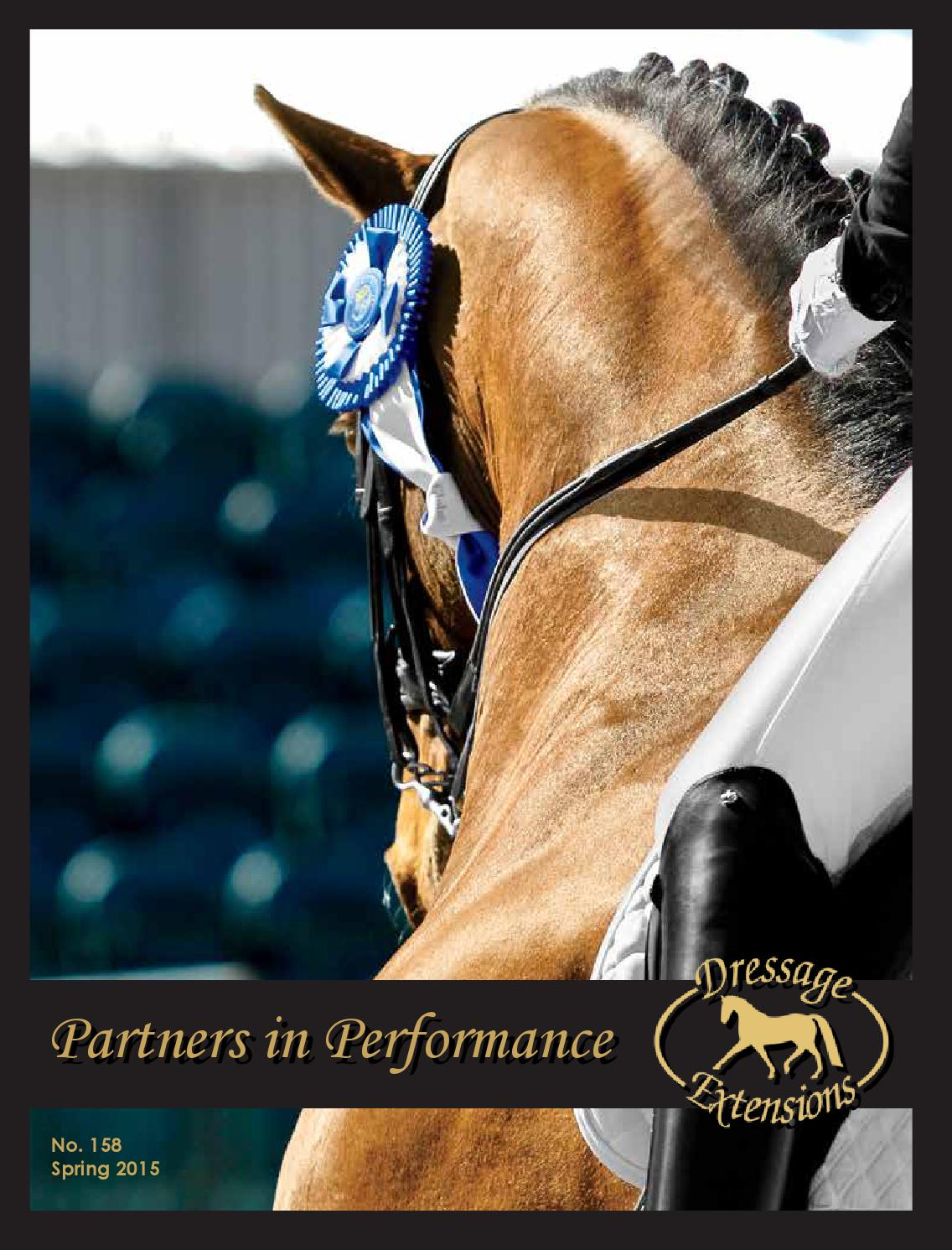 Dressage Extensions Catalog 158 by Dressage Extensions issuu