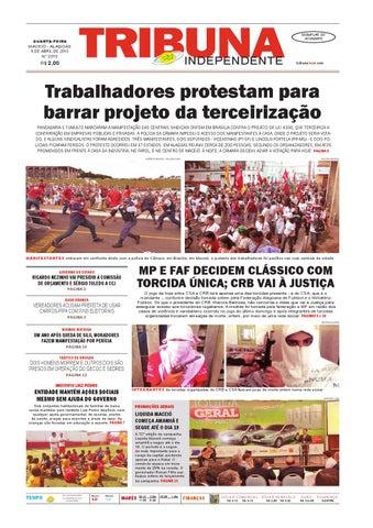 0421a0b55ed23 Edição número 2315 - 8 de abril de 2015 by Tribuna Hoje - issuu