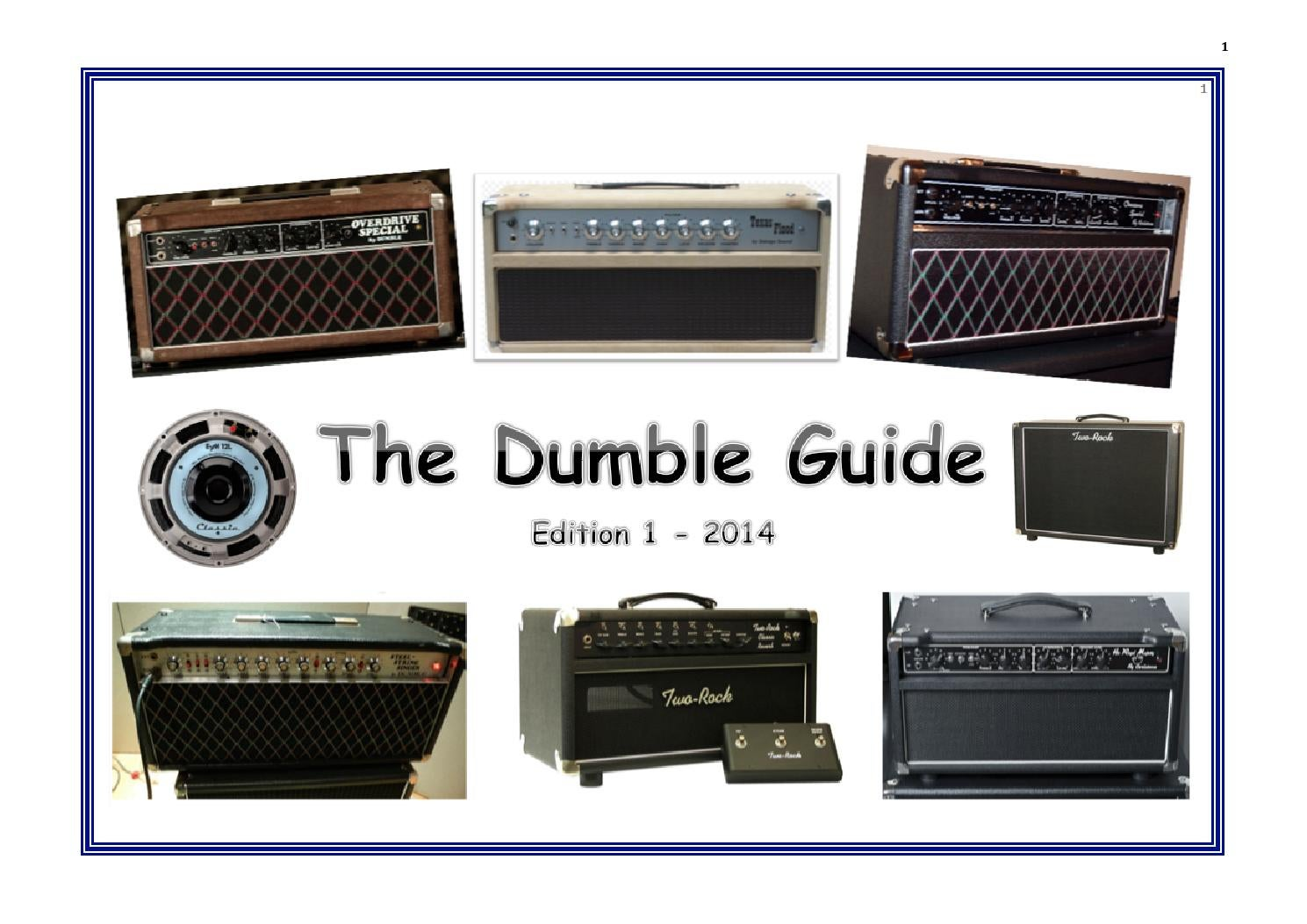the dumble guide edition 1 2014 by the dumble guide issuu rh issuu com Dual Amp Wiring Diagram Dual Amp Wiring Diagram