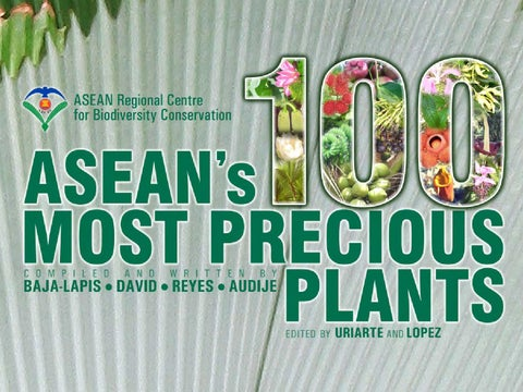 ASEAN's 100 Most Precious Plants by Nanie Gonzales - issuu