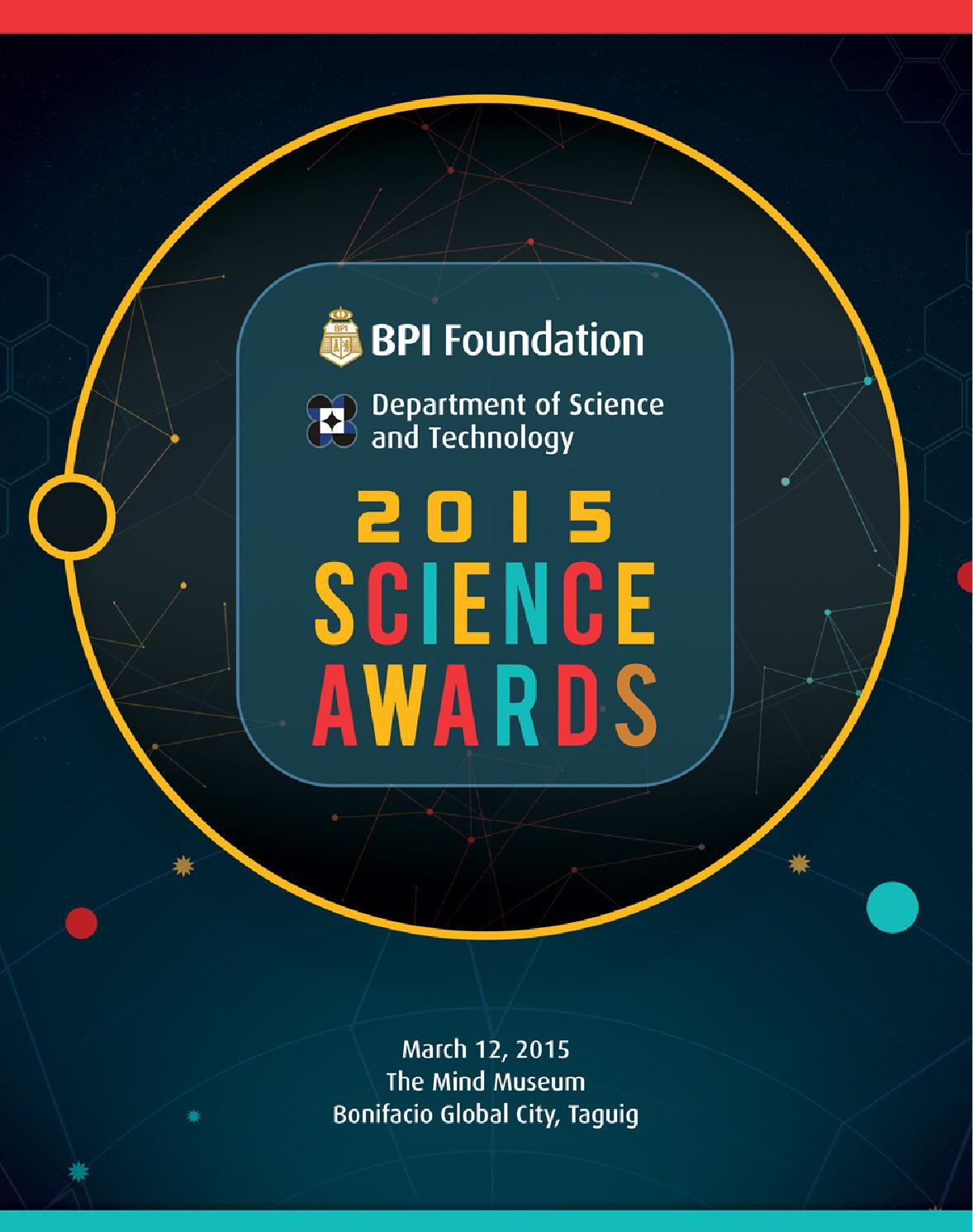 BPI DOST 2015 Science Awards by Vitalstrats Creative