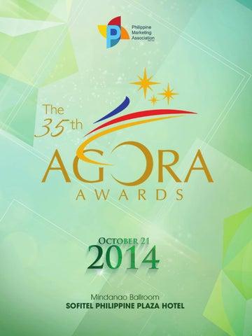 ed4fc33f4e80 The 35th AGORA AWARDS 2014 by Vitalstrats Creative Solutions - issuu