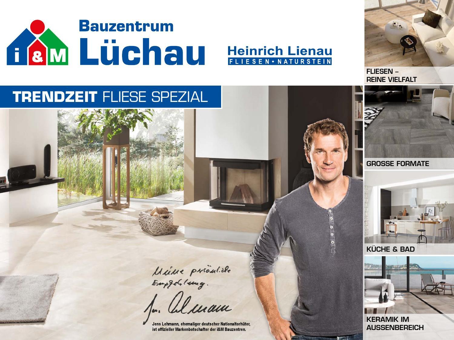 GroBartig TRENDZEIT Fliese Spezial 2015 U2013 Bauzentrum Lüchau By FULLHAUS   Issuu