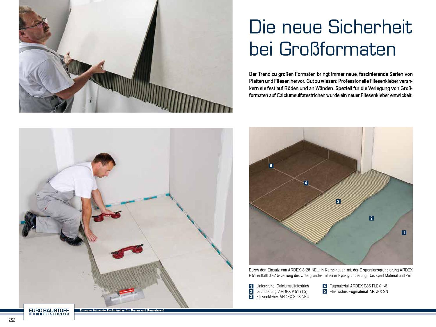 TRENDZEIT Fliese Spezial Bauzentrum Lüchau By FULLHAUS Issuu - Fliesen für 5 euro