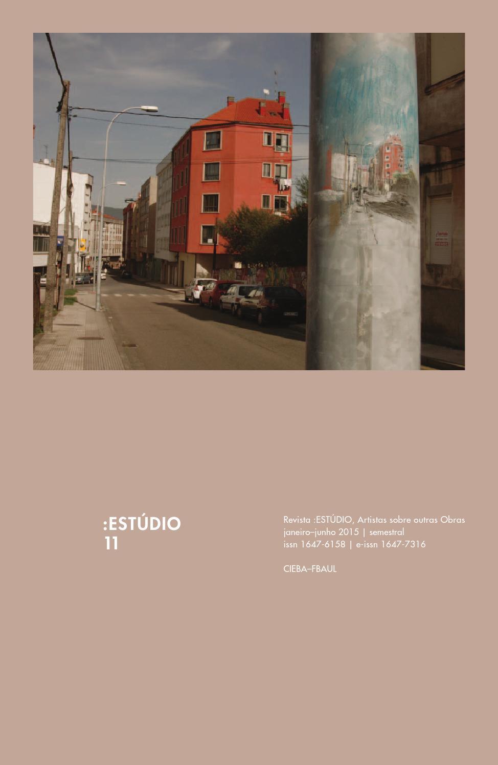 ESTÚDIO 11 by belas-artes ulisboa - issuu 7781b6719d